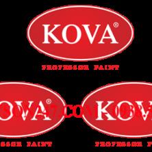 Sơn kẻ vạch Kova TF909 màu đỏ