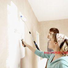 Tường bị ố vàng sau khi sơn nhà phải làm sao ?