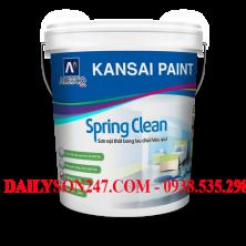 Sơn nội thất Kansai Spring Clean