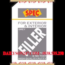 Bột trét tường Spec Filler Putty màu Grey