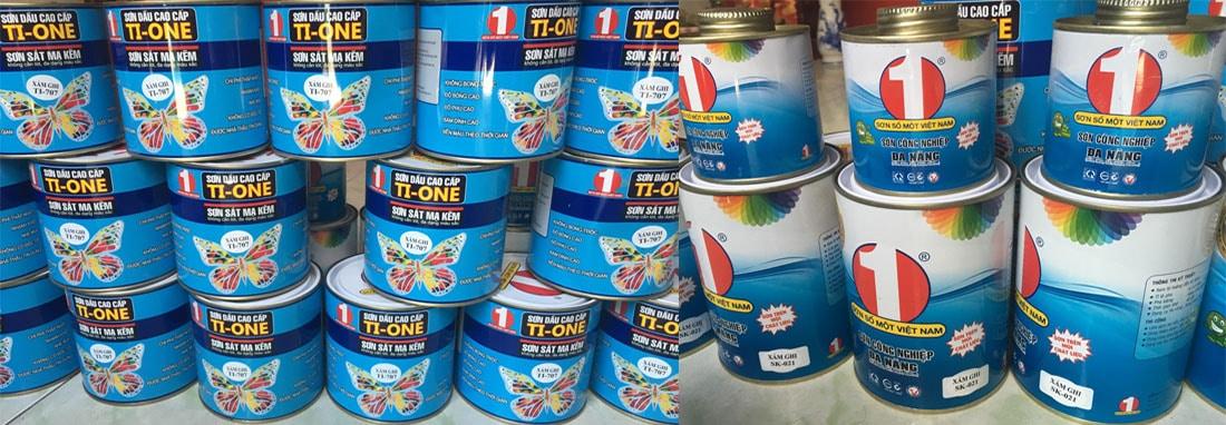 Cung cấp sơn TIONE sơn sắt mạ kẽm giá rẻ nhất hiện nay