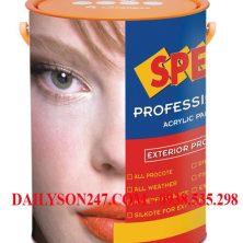 Sơn ngoại thất Spec Pro Styrene Acrylic