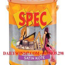 Sơn ngoại thất Spec Satin Kote