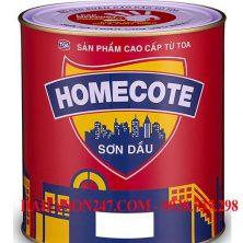 Sơn dầu Toa Homecote bóng cao cấp
