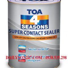 Sơn lót Toa 4 Seasons Super Contact Sealer for int & ext
