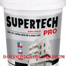 Sơn lót Tóa SuperTech Pro Alkali Sealer for int & ext