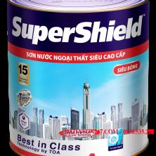 Sơn ngoại thất Tóa SuperShield siêu bóng