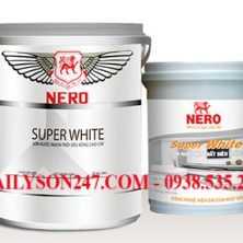 Sơn nội thất Nero Super White
