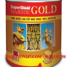 Sơn Toa SuperShiel Majestic Gold nhủ vàng for in & ext