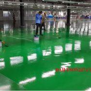 Các bước thi công sơn sàn epoxy