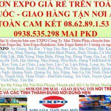 Cần Thơ Đà Nẵng Hà Nội Hải Phòng Thành phố Hồ Chí Minh Muốn mua sơn Expo Giá rẻ hãy gọi 0938.535.298