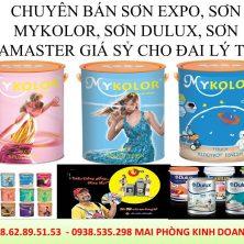 Điều kiện làm đại lý sơn Mykolor, sơn Expo, sơn Dulux, sơn Kova